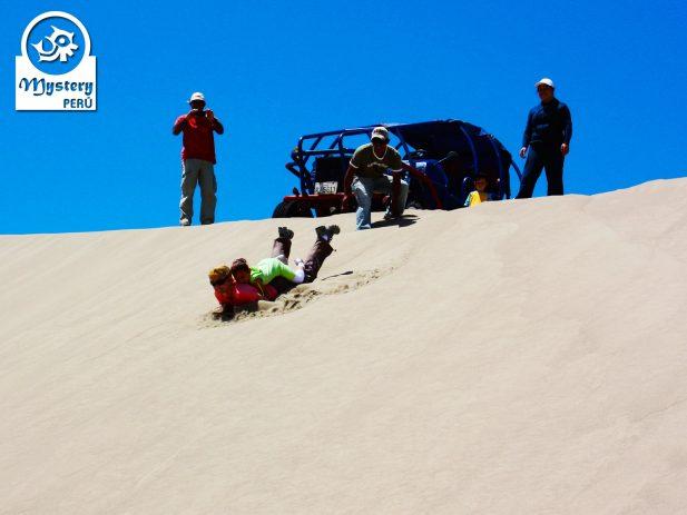 Sandboarding excursion to the Usaka Desert.