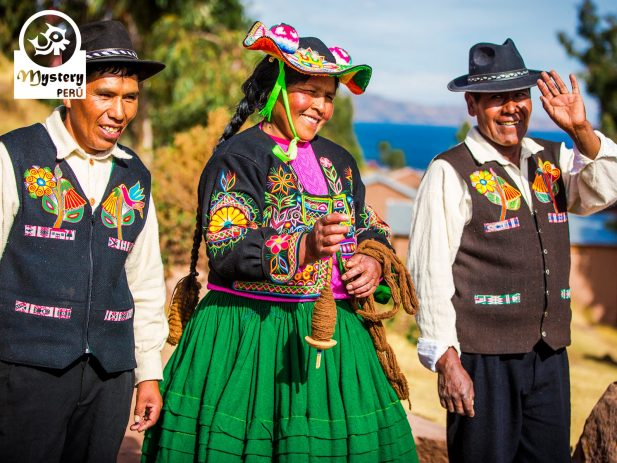 Local people of Lake Titicaca