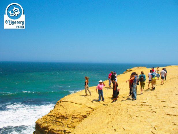 Paracas Natural Landscape