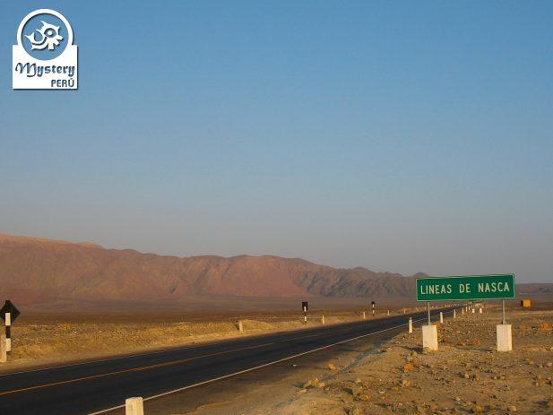 The Nasca desert,