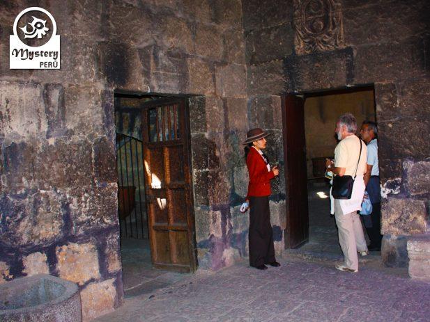 Inside Santa Catalina Monastery in Arequipa.
