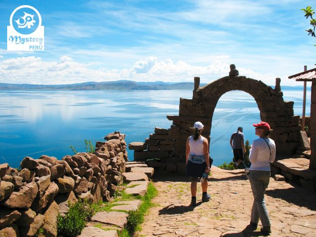 Visit to the Taquile Islan on the Lake Titicaca