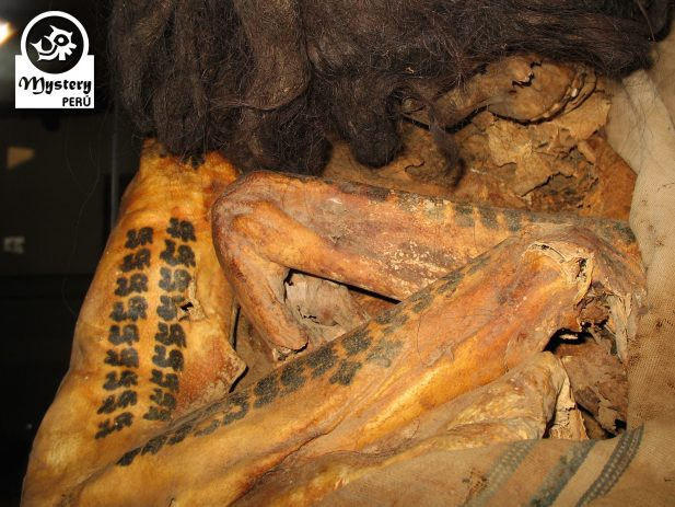 Nazca mummy at the Maria Reiche Museum