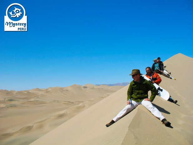 Sandboarding tour to the Usaka Desert.