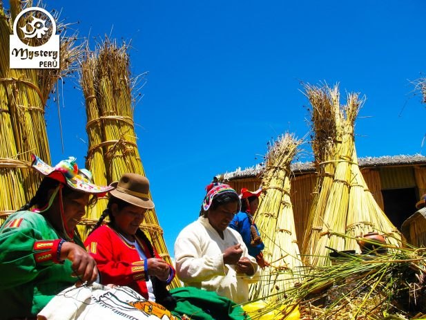 Uros tribe on the Lake Titicaca Tour