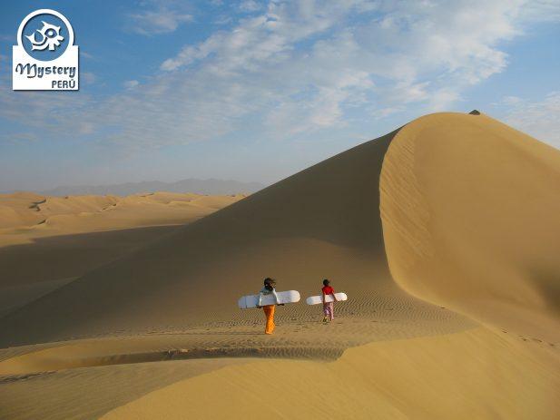 Dune Buggy tour to the Usaka Desert in Nazca.