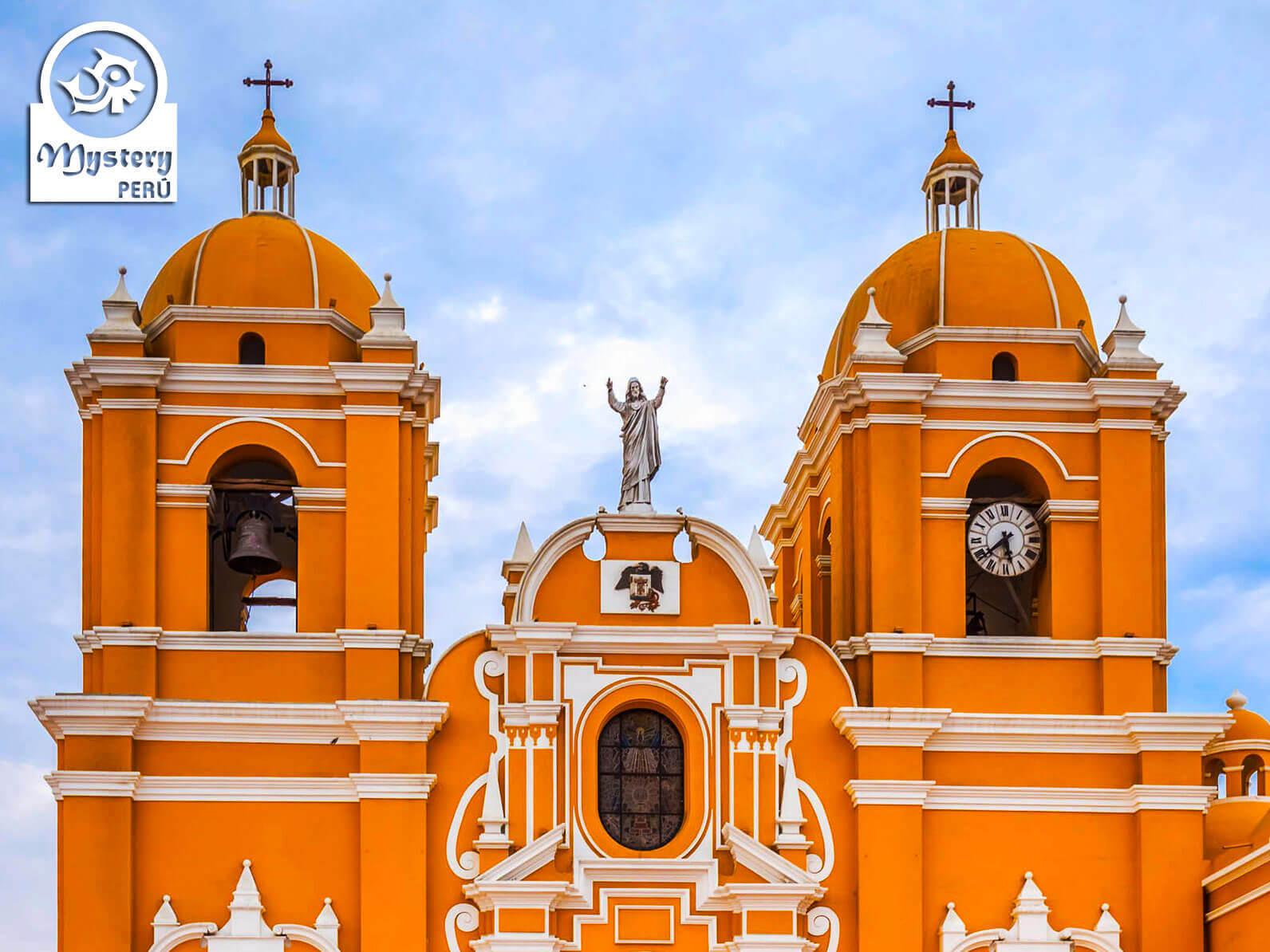 Cathedral of Trujillo in Peru.