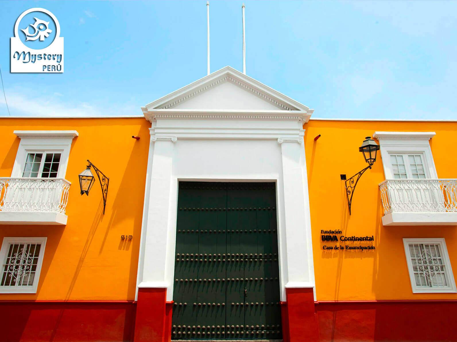 Emancipation House in Trujillo Peru.
