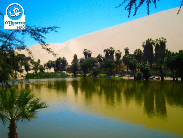 Great image of Huacachina Oasis.