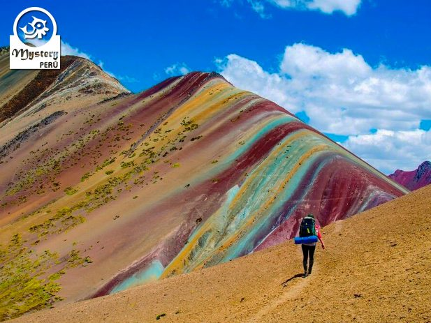 Visting the Rainbow Mountain - Full Day Trek.