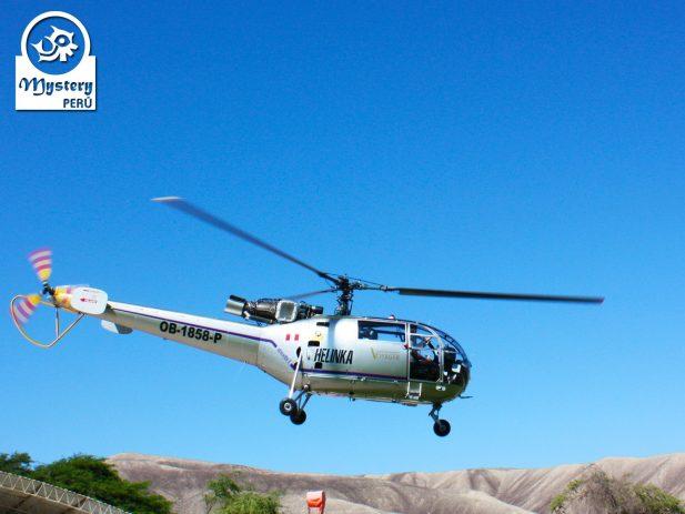 Vuelo a las Lineas de Nazca en helicoptero 4