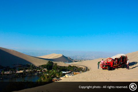 Dune Buggy Tour in Huacachina Oasis