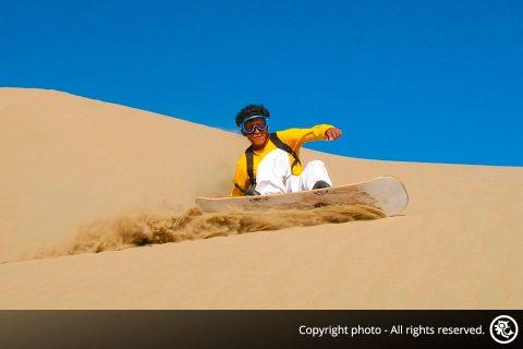 Sandboarding tour on Cerro Blanco in Nazca