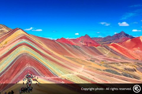 Trek to The Rainbow Mountain Vinicunca