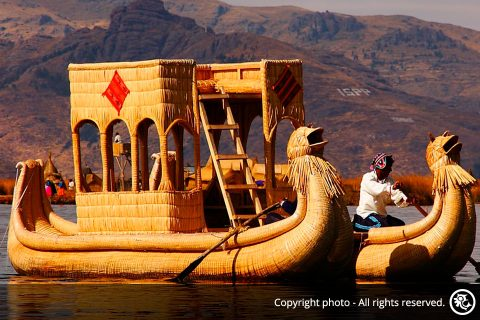 Tour to the Uros Floating Islands and Taquile Island from Cusco