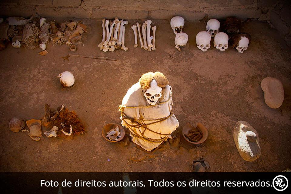 Excursão ao Cemitério de Chauchilla