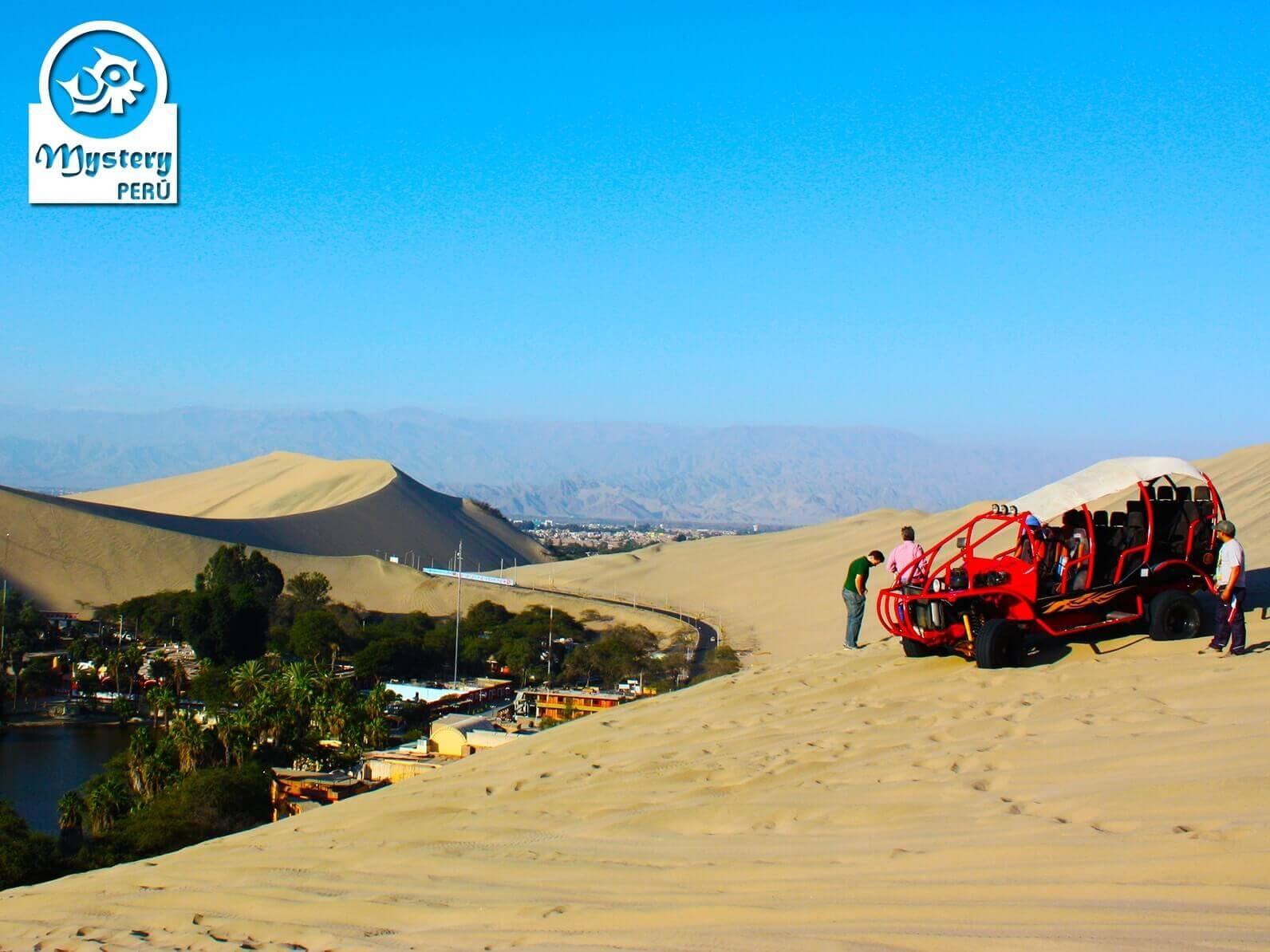 Excursão ao Oasis Huacachina de Lima
