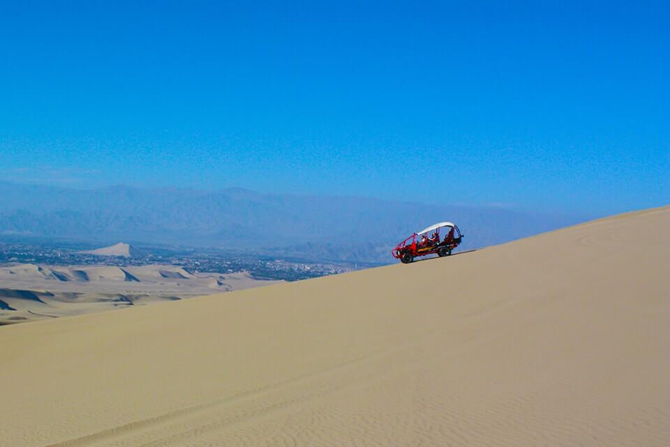 Excursão de 1 dia para o Oásis de Huacachina e as Linhas de Nazca