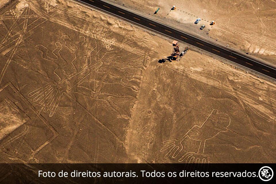 Linhas de Nazca e Oásis Huacachina de Cusco