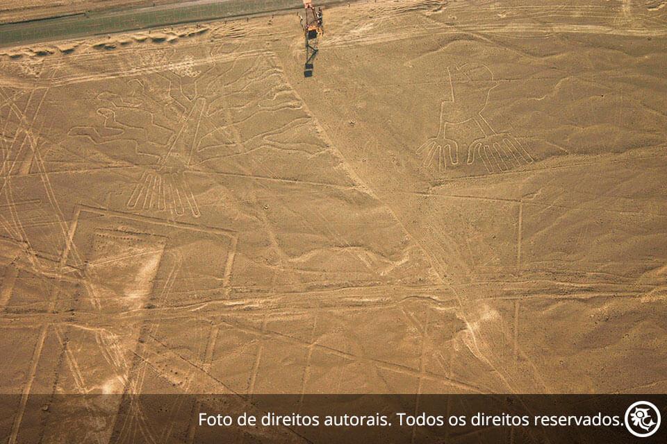 Tour às Linhas de Nazca viajando de ônibus turístico