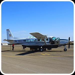 Avion Caravan para Las Lineas de Nazca