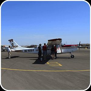 Avioneta de las Lineas de Nasca