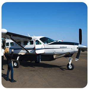 Caravan in Pisco Airport