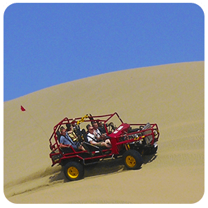 Dune Buggy around Huacachina Desert