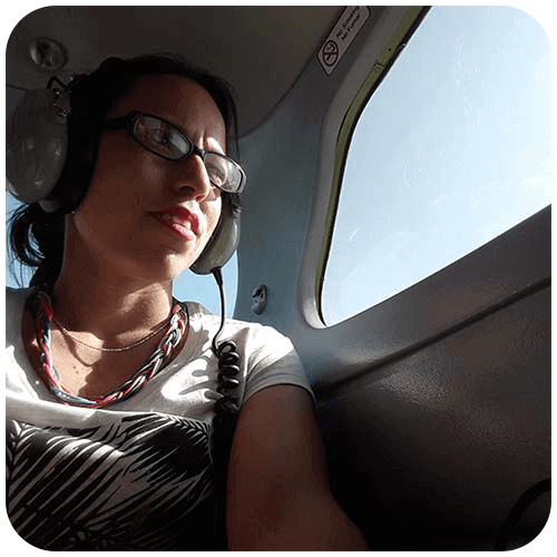 Flying over the Nasca Lines