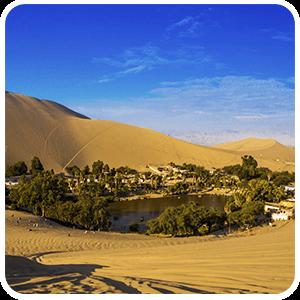Huacachina vista desde las dunas