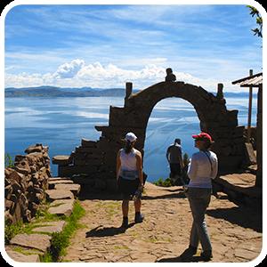 Mirador Natural de la Isla Taquile