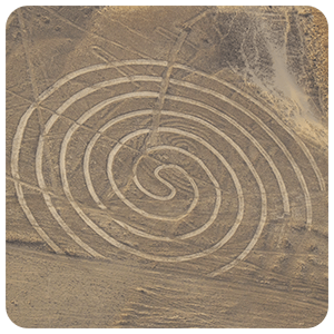 Nasca Spiral Figure