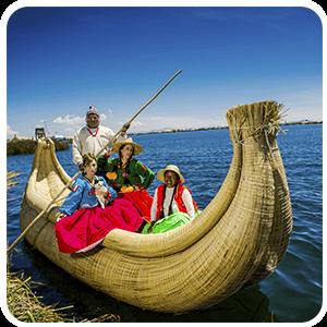 Nice Totora Reed Boat