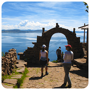 Taquile Island Lookout point