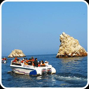 Tour Boat at the Ballestas Islands