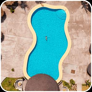 Vista desde el aire Nazca Lodge