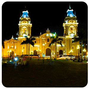 Lima Peru by night