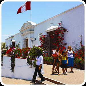 Museo Larco in Lima Peru