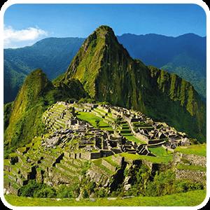 Vista del Santuario de Machu Picchu
