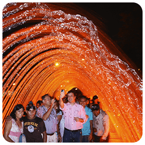 Water Bridge in Lima Peru