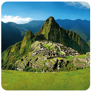Panoramic Photo of Machu Picchu