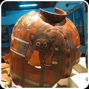 Ceramic found at Cahuachi