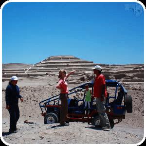 Excursion en las Ruinas de Cahuachi