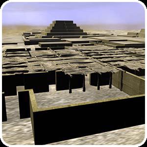 Reconstrucción Virtual de Cahuachi en Nazca