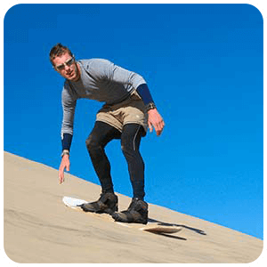 Sandboarding Cerro Blanco