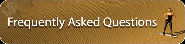 Sandboarding FAQ
