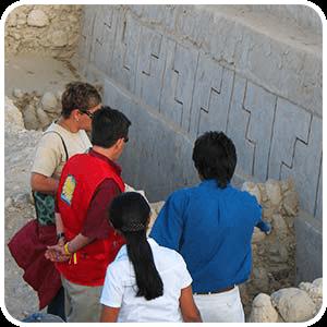 Templo Escalonadode Cahuachi