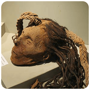 Trophy head found at Cahuachi