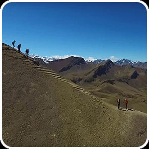 Trek to The Rainbow Mountain Vinicunca