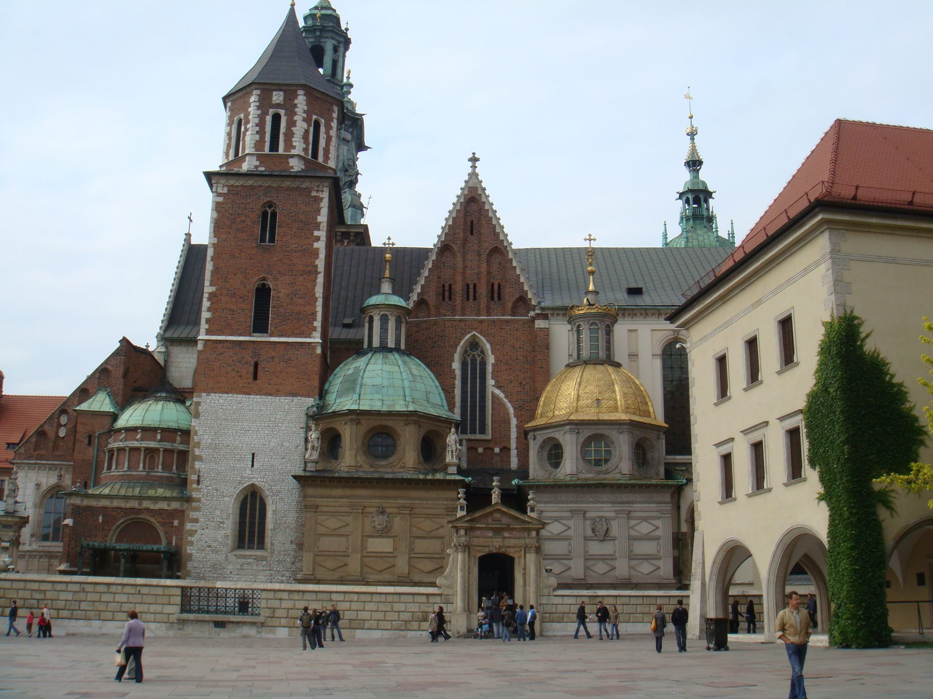 Wawel Castle, site of all Polish coronations.  Also the lair of Smok.